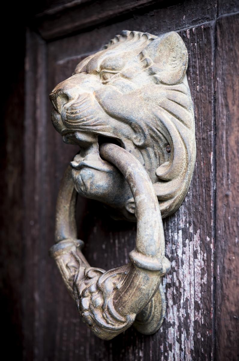 Maison Manechal - Front Door