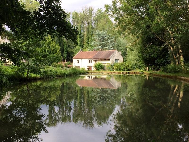 Vue depuis l'étang